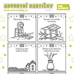 Adventní kartičky